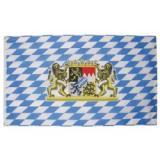 Vlajka BAYERN MIT L�WEN 90 x 150 cm