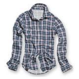 Košile dámská JAMIE s dlouhým rukávem MODROÈERVENÁ