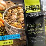 Kuøe po zahradnicku s fazolemi - ADM sterilizované hotové jídlo