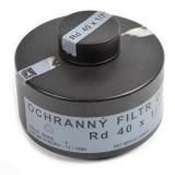 Filtr AÈR OF-90 pro plynovou masku použitý