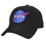 Èepice baseball s nápisem NASA ÈERNÁ