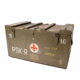 Bedna zdravotní døevìná PSK-R