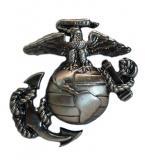 Odznak PEWTER USMC STØÍBRNÝ MATNÝ
