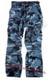 Kalhoty US BDU dámské - skyblue pouze velikost XL