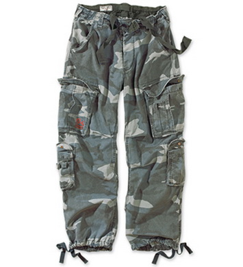 Kalhoty AIRBORNE VINTAGE NIGHT CAMO