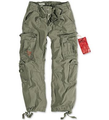 Kalhoty AIRBORNE VINTAGE OLIV