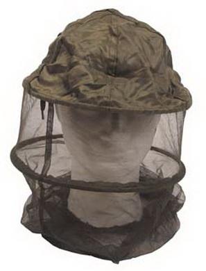 Klobouk s moskytiérou a okružím OLIV