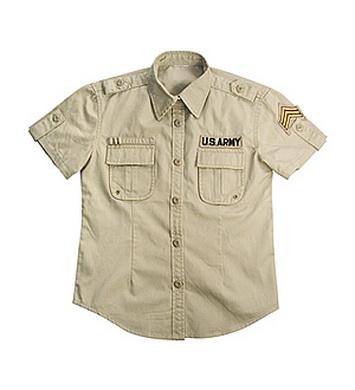 Košile dámská BDU US ARMY VINTAGE KHAKI