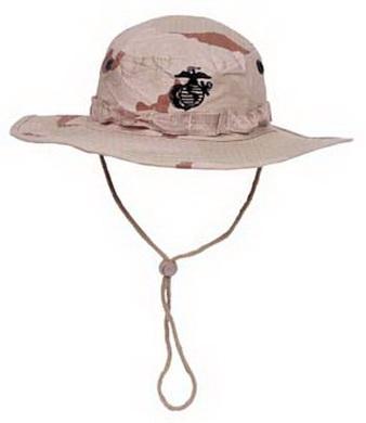 Klobouk USMC Rip Stop 3 COL. DESERT