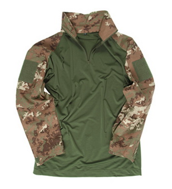 Košile TACTICAL s límeèkem VEGETATO WOODLAND