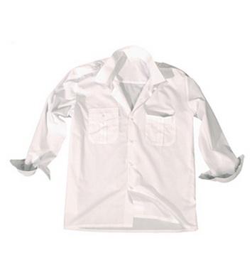 Košile SERVIS dlouhý rukáv na  knoflíky BÍLÁ