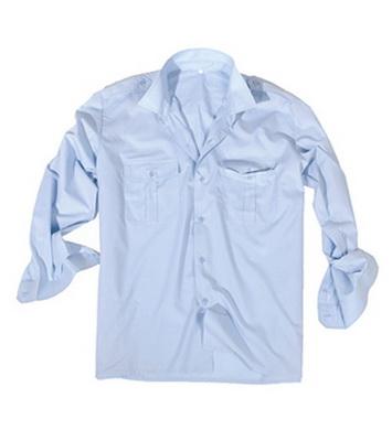 Košile SERVIS dlouhý rukáv na  knoflíky SVÌTLEMODRÁ