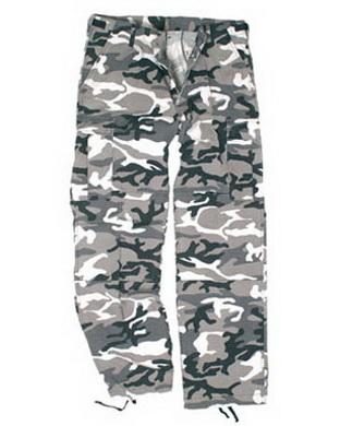 Kalhoty dámské US BDU R/S PREWASH URBAN