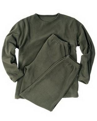 Spodní prádlo THERMOFLEECE - OLIV