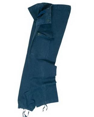 Kalhoty BW typ moleskin pøedeprané MODRÉ