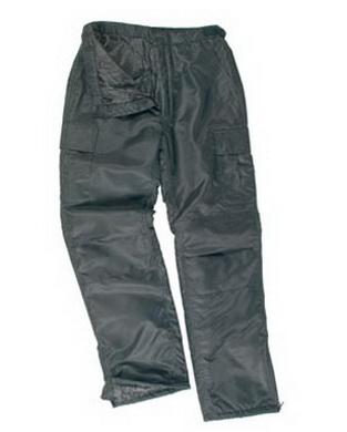 Kalhoty US MA1 THERMO zateplené ÈERNÉ