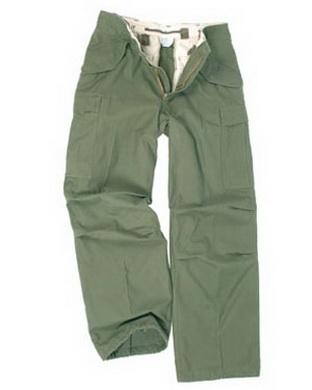 Kalhoty US M65 OLIV