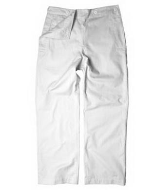 Kalhoty námoønické bílé