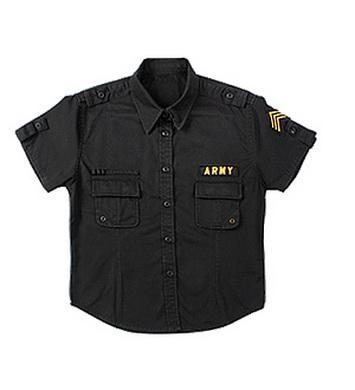 Košile dámská BDU US ARMY VINTAGE ÈERNÁ