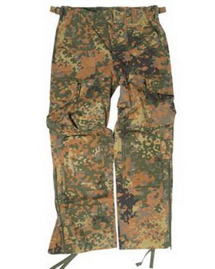 Kalhoty LIGHT WEIGHT s nákoleníky FLECKTARN