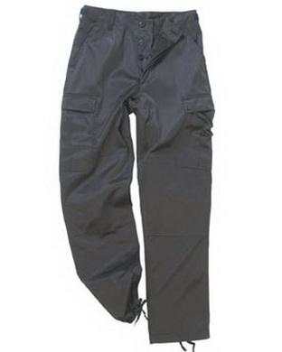 Kalhoty US BDU polní ÈERNÉ