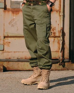 Kalhoty US BDU typ RANGER OLIV
