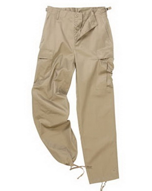 Kalhoty US BDU typ RANGER KHAKI