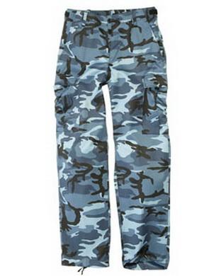 Kalhoty US BDU typ RANGER SKYBLUE