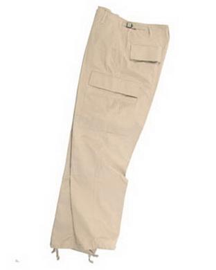 Kalhoty US BDU ripstop - khaki