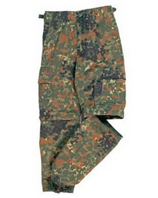 Kalhoty dìtské US BDU ZIP-OFF FLECTARN