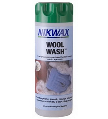 Prostøedek prací WOOL WASH 300ml na vlnìné funkèní spodní prádlo a ponožky