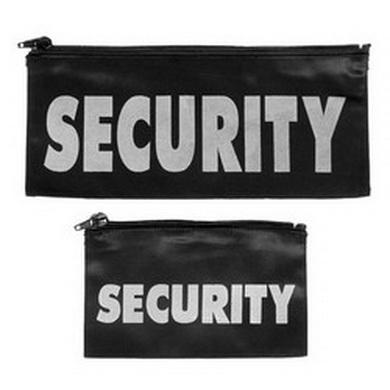 Nápis na hruï 'SECURITY' MALÝ na zip ÈERNÝ