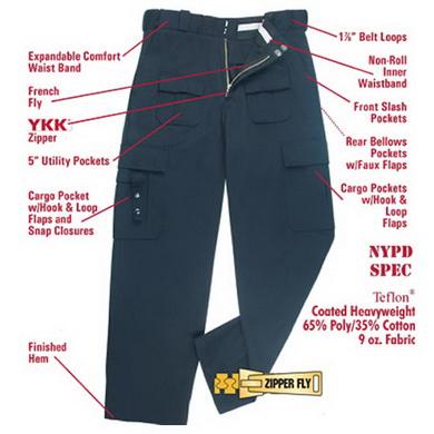 Kalhoty MIDNITE NAVY ULTRA TEC