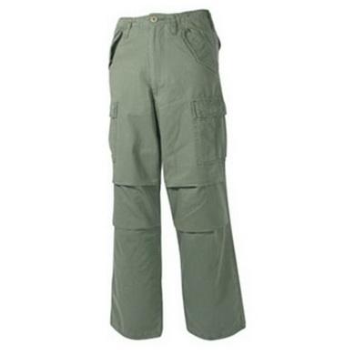 Kalhoty US M65-STYLE pøedeprané ZELENÉ