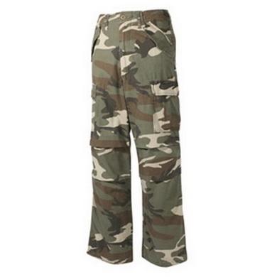 Kalhoty US M65-STYLE pøedeprané WOODLAND