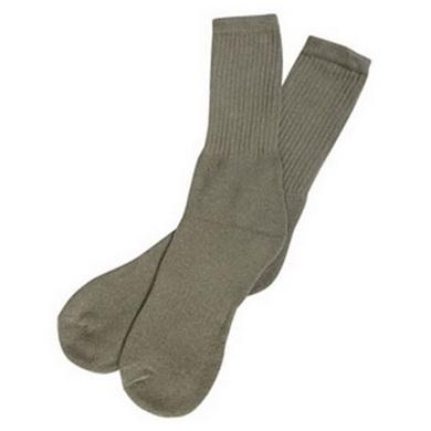 Ponožky BARRACK DRESS ZELENÉ vel.6-11