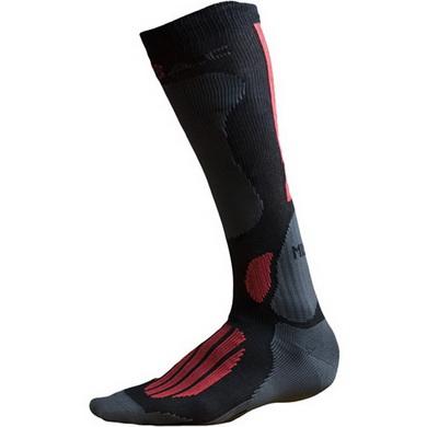 Ponožky BATAC Mission - podkolenka ÈERNO/ÈERVENÉ
