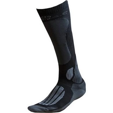 Ponožky BATAC Mission - podkolenka ŠEDO/ÈERNÉ