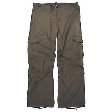Kalhoty dámské VINTAGE PARATROOPER HNÌDÉ