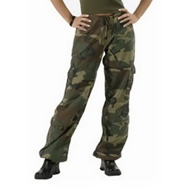 Kalhoty dámské VINTAGE WOODLAND