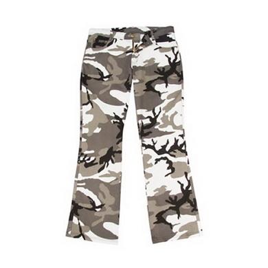 Kalhoty dámské STRETCH FLARE METRO-URBAN