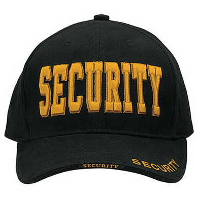 Èepice DELUXE SECURITY BASEBALL ÈERNÁ