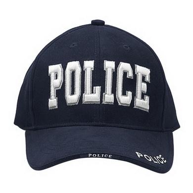Èepice DELUXE POLICE BASEBALL MODRÁ