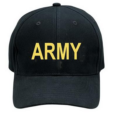 Èepice BASEBALL ARMY ÈERNÁ