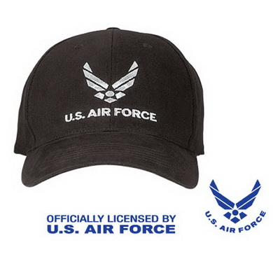 Èepice U.S. AIR FORCE BASEBALL ÈERNÁ