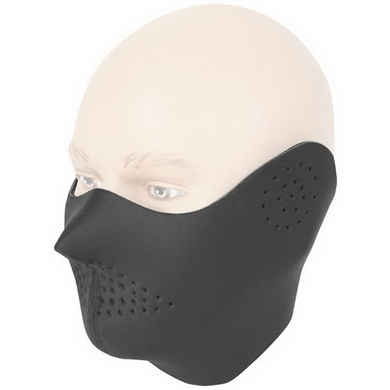 Maska oblièejová NEOPREN ÈERNÁ