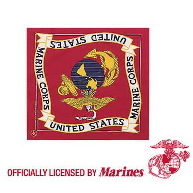 Šátek 55 x 55 cm U.S. MARINE