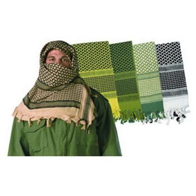 Šátek SHEMAG odlehèený KHAKI 105 x 105 cm