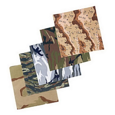 Šátek 68 x 68 cm JUMBO TIGER STRIPE