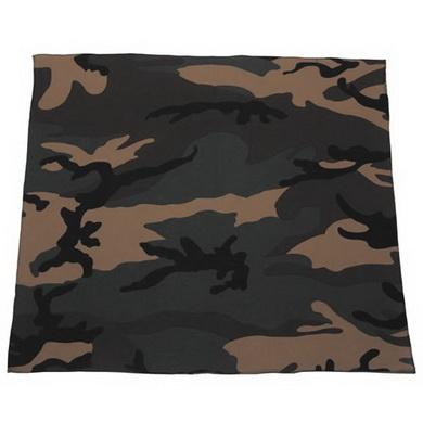 Šátek BANDANA 55x55 cm WOODLAND
